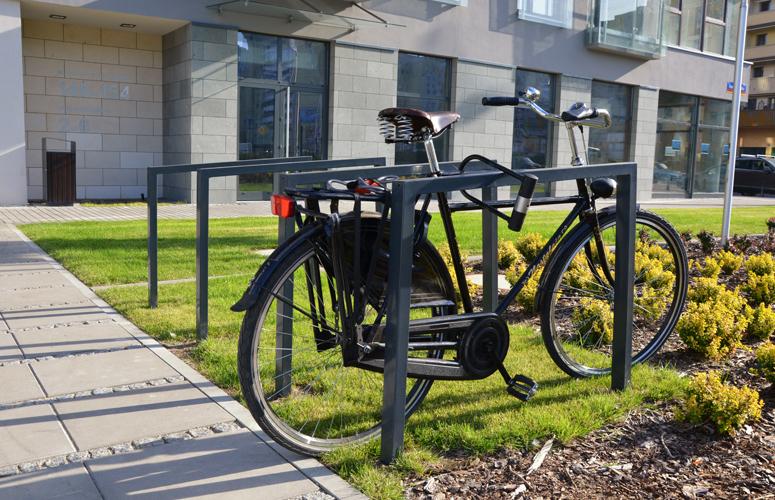 Stojak rowerowy Kemi / dowiedz się więcej.